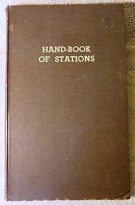 Official Hand-Book of Stations / Railways in Great Britian and Ireland