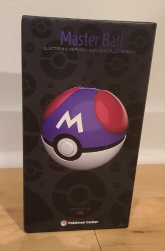 Pokemon Master Ball replica by The Wand Company Limited Edition 25th anniversary
