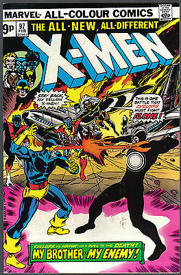 THE X-MEN ISSUE NUMBER 97 PRODUCED BY MARVEL COMICS