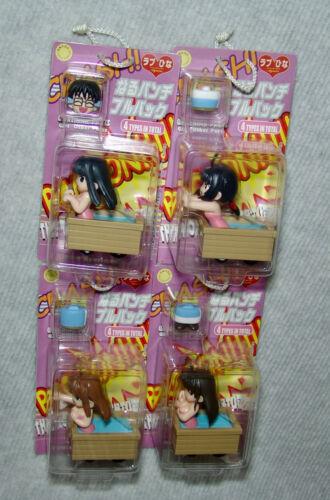 NEW SEGA Love Hina the Moving Bathtub pull back toy figure set of 4pcs Complete