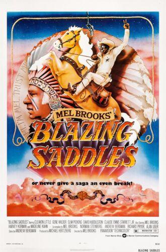 Blazing Saddles poster - 11 x 17 inches - Mel Brooks