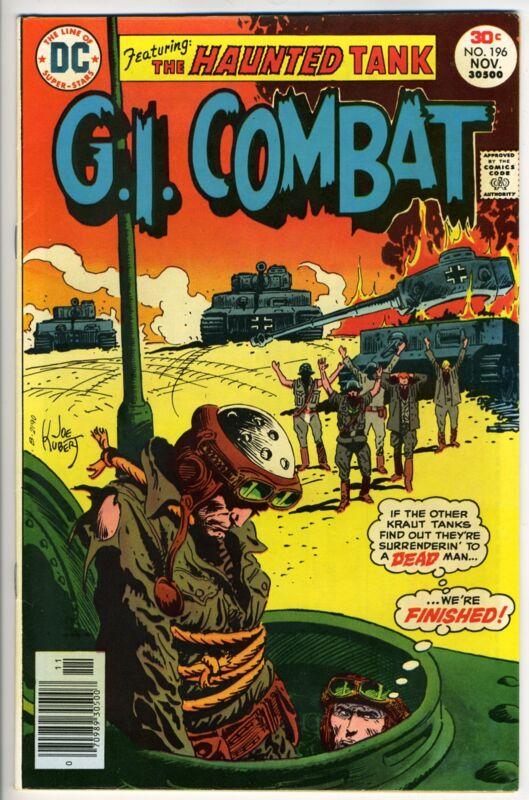 G.I. COMBAT #196 - Kubert