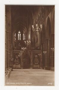 London, In Westminster Abbey, Judges L14A Postcard, A891