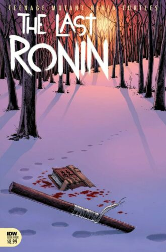 TMNT THE LAST RONIN #4 2021 Main Cover A 1st Print IDW NM 9/22 PreSell