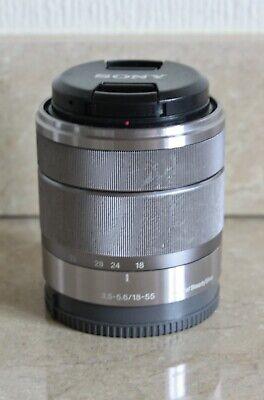 SONY SEL 18-55mm f/3.5-5.6 OSS Lens - SILVER - SEL 1855 - SONY E Mount