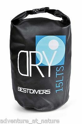 Best Divers 15L Waterproof Dry Bag Water Sport Spearfishing Scuba Diving