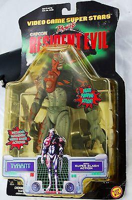 Resident Evil Toy Biz  Capcom Action Figure Tyrant  1998  Factory Sealed