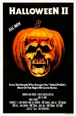 HALLOWEEN II (1981) ORIGINAL MOVIE POSTER  -  ROLLED](Halloween 1981 Movie)