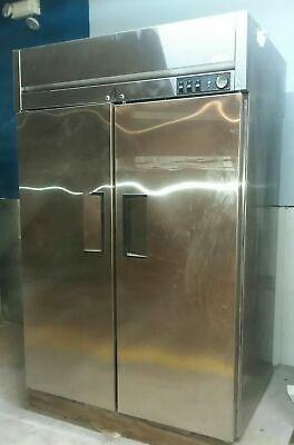 True Commercial Kitchen Heating Warming Cabinet 4 Door Restaurant Equipment