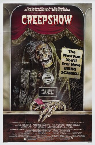 CREEPSHOW Movie Poster Horror Anthology Cult Classic