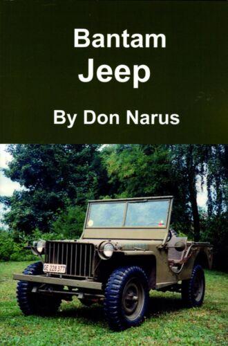 Bantam Jeep- NEW BOOK!