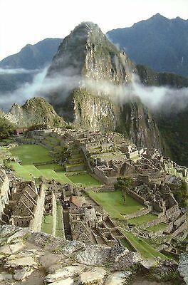 Machu Picchu Sunrise, Inca Ruins, Peru South America, Indian --- Modern Postcard