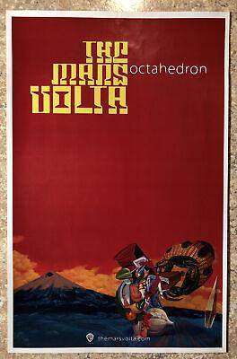 The Mars Volta - Octahedron Original Promo Poster 11x17 Free shipping