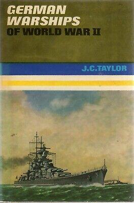 German Warships of World War II (Ian Allan 1966) John Charles Taylor