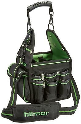 Hilmor 1839078 Ht Hvacr Tote - Bag For Tools Equipment Black And Green New