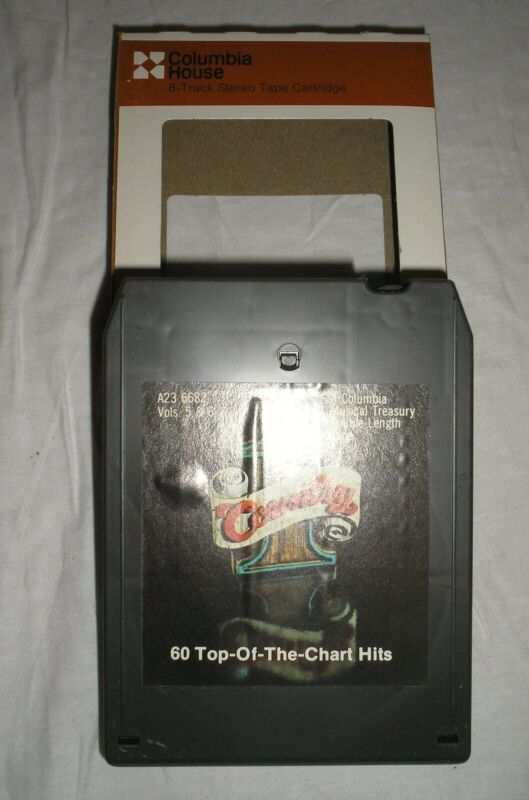 #1 Country - 60 Top Of The Chart Hits - Volumes 5 & 6 - 8 Eight Track Tape