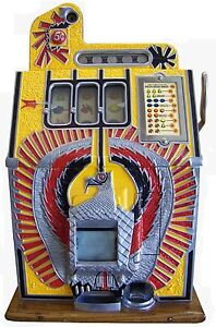 ANTIQUE 1931 Mills WAR EAGLE 5 CENT  SLOT MACHINE