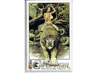 CAVEWOMAN FEEDING GROUNDS #1 BUDD ROOT Special Edition NUDE Cover Nice NM New