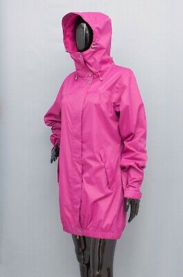 KARI TRAA Raincoat Hooded Purple Jacket Waterproof M
