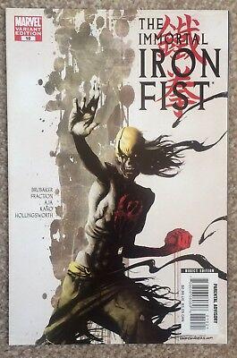 THE IMMORTAL IRON FIST #10 (2007)..NM unread 1st print..Zombie variant