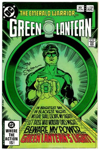 Green Lantern #155 Very Fine Signed w/COA Joe Staton 1982 DC Comics