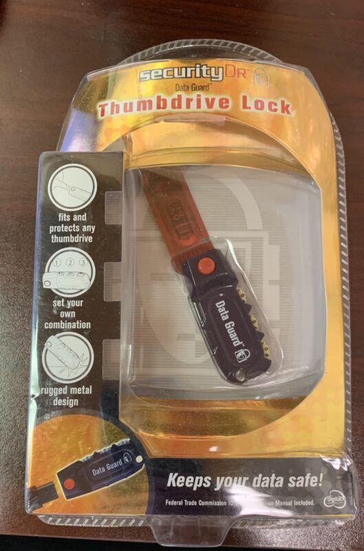 USB Thumb drive Lock Data Guard Security Drive Digital innovation