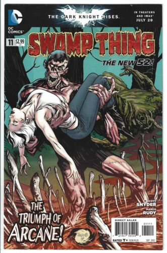 Swamp Thing #11 (2011) DC Comics New 52 vol 5 2011 Low Print