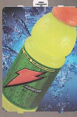 Gatorade Lemon-Lime Vending Machine Sign