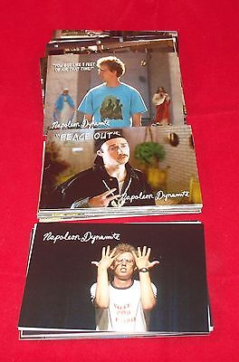 Napoleon Dynamite   Complete Trading Card Set    Flippin Sweet
