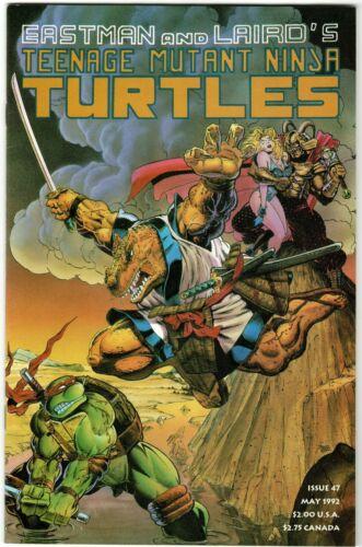 Teenage Mutant Ninja Turtles 47 (Mirage), 1st Space Usagi Yojimbo 1