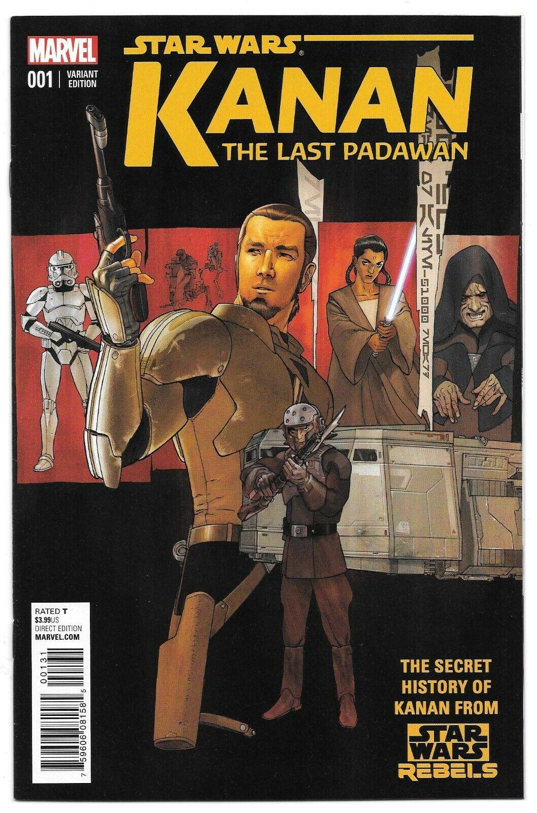 STAR WARS KANAN THE LAST PADAWAN 1 1 25 Plunkett 1st Kanan Jarrus Sabine Wren - $299.99