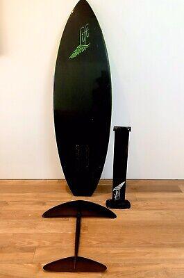 Kiteboarding Equipment-Lift Carbon Foil & Carbon Surf Board