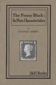 PENNY-BLACK-PLATE-CHARACTERISTICS-Variety-Flaw-Positions-Concise-Plating-Aid-CD