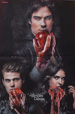 THE VAMPIRE DIARIES - A3 Poster (42 x 28 cm) - Ian Somerhalder Fan Sammlung NEU gebraucht kaufen  Hanau
