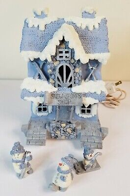 Encore Group Snowville Village Collection Sports Shop Preowned 1999 Vintage