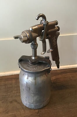 Binks 2001 Paint Spray Gun W Cup Tested Good Shape Free Ship