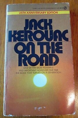 ON THE ROAD by JACK KEROUAC 25th Anniversary Edition Mass Market Paperback Beats for sale  Ipswich