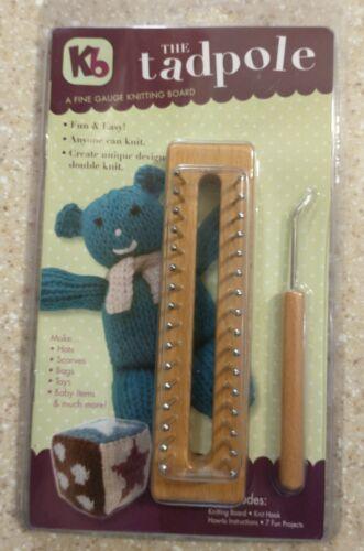 KB - The Tadpole Knitting Board Loom  New