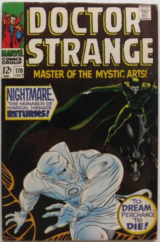Doctor Strange #170 (Jul 1968, Marvel), VFN-NM condition