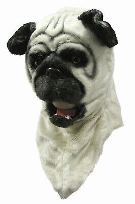 Bull Masks (Bull Dog Moving Mouth Adult Costume)