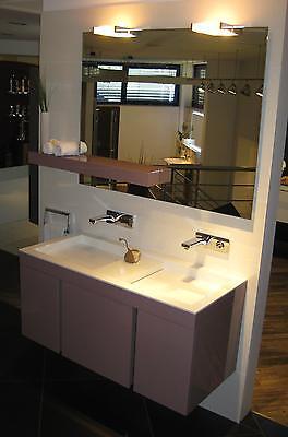 Karol Manhattan Design Waschtisch-Möbel-Kombi - Breite 115cm - UVP 8.917 EUR