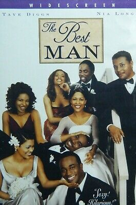 The BEST MAN (1999) Taye Diggs Nia Long Morris Chestnut Terrence Howard