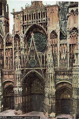 CPA - Carte postale FRANCE -ROUEN - La Cathédrale - Son Portail (iv 855)
