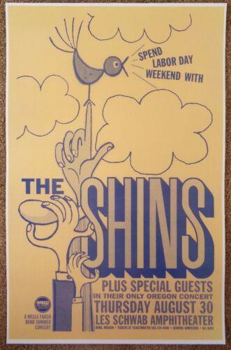 THE SHINS 2007 Gig POSTER Bend Oregon Concert