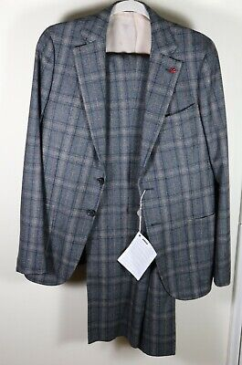 Isaia Dandy Attitude Capri Suit Size 38 / 48EU Brand New Wool 130s