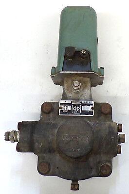 Foxboro Dp Cell Pressure Transmitter 15a-1 Style E 500psi