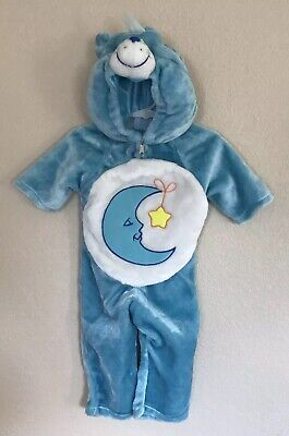 Care Bears Baby 3/12 Months BEDTIME BEAR soft acrylic polyester plush Costume