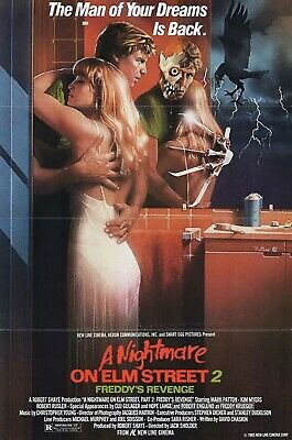 A Nightmare on Elm Street Part 2: Freddy's Revenge (1985) original movie poster