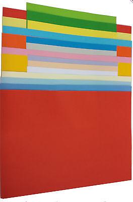 Tonpapier Tonkarton  Tonzeichenpapier A3 basteln viele Farben - 160g/m² (22340)
