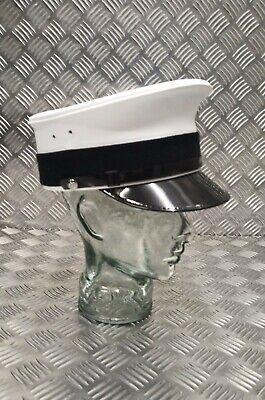 Original Militär / Sicherheit Weiß Offizier Feierlich & - Weißer Offizier Hut
